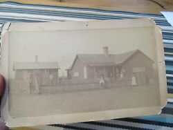 Antique 1890 Cabinet Photo Of Residence In Albuquerque,new Mexico By Chas.gould