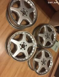 19 Rare Amg Wheels For Mercedes-benz Fits W124 W140 W210 W211 W219 And Other