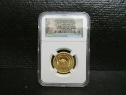 2014p Gold Kangaroo 25th Anniv. G50 First Release-limited Strike Of 400-rare