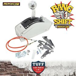 Aeroflow Silver Bang Shift Nitro Ratchet Shifter 2 3 And 4 Spd Auto And Fitting Kit