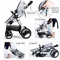 Infant Toddler Baby Stroller Carriage - Cynebaby Compact Pram Strollers Single S