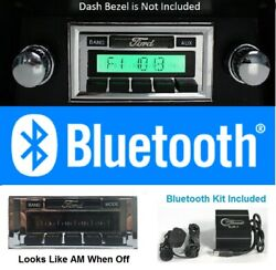 1980-1986 Ford Truck Bluetooth Stereo Radio Free Aux Cable Hands Free 630bt