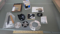 Vtg Harley Davidson Motorcycle Parts Lot Horn Switch Cap Buttons Covers Oem Kit