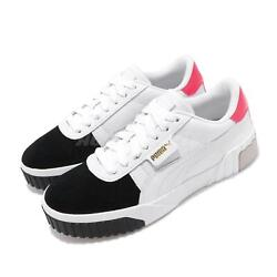 Cali Remix Wns White Black Gold Women Casual Shoes Sneakers 369968-02