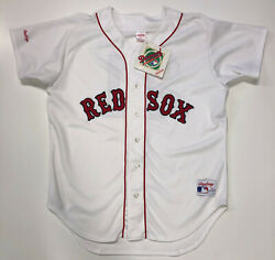 Roger Clemens Boston Red Sox Rawlings Authentic Jersey 46 New W/tags