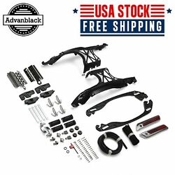 One Touch Latch Saddlebag Lids Hardware Cover W/ Lock For 2014+ Harley Touing