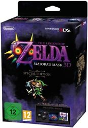 The Legend Of Zelda Majoras Mask 3d Special Edition For 3ds Sold Out Brand New