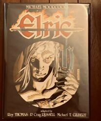 Graphitti Designs Comic Hc Moorcockand039s Elric Of Melnibone Signed X3 Le Ap/ 2000