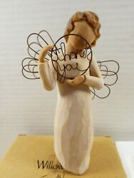 2005 Willow Tree Susan Lordi Just For You Demdaco Thank You Angel 5.25 And Box
