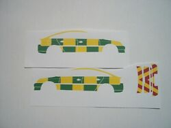 No 91 Vauxhall Vectra 3 C Paramedic clear Waterslide decals CLOSING DOWN SALE £1 GBP 1.00