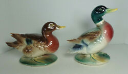 Duck Set Anthony D Priolo Mallard Hen And Drake Figurine Royal Windsor Copley