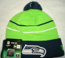 Seattle Seahawks Thanksgiving Day New Era On Field Knit Beanie Hat New With Tags