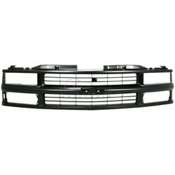 New Front Grille Fits Chevrolet C2500 1994-2000 15981092
