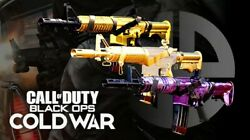 Call Of Duty Black Ops Cold War Gold/diamond/dm Ultra Weapon Camo Service