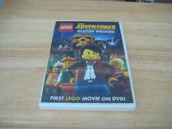 LEGO: The Adventures of Clutch Powers DVD 2010 BRAND NEW SEALED $3.99
