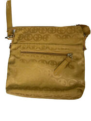 Giani Bernini Women's Bag Crossbody 10x10 Dark Yellow $40.00