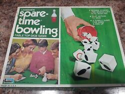 Vintage Spare-time Bowling Table Top Dice Game Lakeside Games