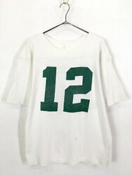 Old Clothes 70S Standard Knitting Mills Heavy Cotton Numbering Football T Shirt $183.29