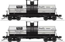 6467 Broadway Limited 6000-gallon Tank Car 2-pack Stauffer Chemical Shpx