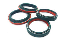 Skf Dual Compound Fork And Dust Oil Seals For Husqvarna Fc 250 E 2014