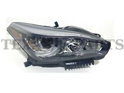 Fits 2015-2019 Infiniti Q70 Front Head Light Lamp Without Afs Right Side Rh