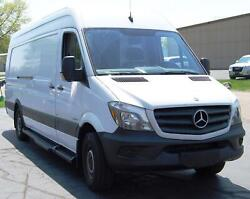 Running Boards Tpo Molded Factory 14-17 Sprinter Wide Step No Rear A/c Tpo