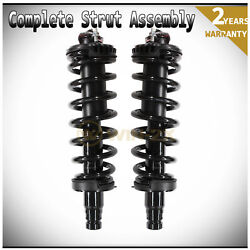 2pcs Front Left+right Quick Complete Strut Shock And Coil Springs Assembly 171341