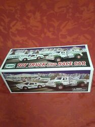 Brand New In Box Hess 2011 Toy Truck And Race Car Gift Xmas Deco Rare Gas Station
