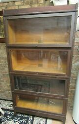 Antique Globe Wernicke Barrister Bookcase Very Good Condition See Pictures