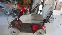 Golden Avenger 4 Wheel Mobility Scooter-red Barely Used, Runs Perfectly.