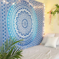 210CM Large Tapestry Wall Wall Hanging Indian Mandala Home Decor Bedspread USA