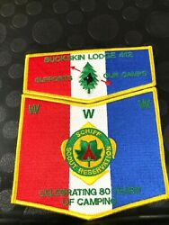 Oa Buckskin Lodge 412 Supports Our Camps Schiff Scout Reservation Two Piece Set