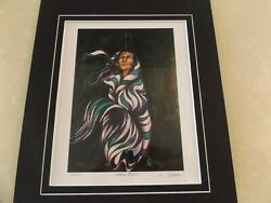 Native Ojibway Don Chase Signed Artist Proof 2/10 Native Focus And Coa