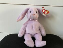 Rare Floppity Beanie Baby With 5 Tag Errors And Uneven Whiskers