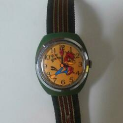 woody Woodpecker Hand Winding Watch Limited Edition Shipped From Japan
