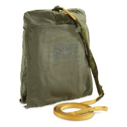Parachute Deployment Bag U.s Military Surplus Army Issue Collectible Olive Color