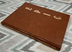 1975 Annual Yearbook Bedford High School Ohio Epic Complete/uncut