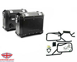 Royal Enfield Himalayan Black Panniers And Rails Genuine Set And Oil Filter fit For