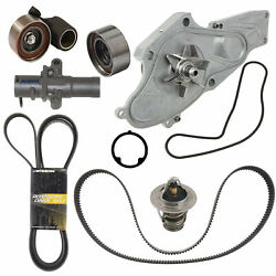 🔥complete Kit Timing Belt And Water Pump W/ Thermostat 78c For Honda Acura V6🔥