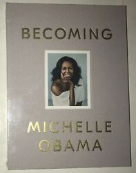 Michelle Obama Real Hand Signed Becoming Deluxe Giftbox 1st Ed. Book Sealed