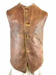 Ww1 Canadian Rfc Royal Flying Corps Leather Jerking Made In Toronto Rare