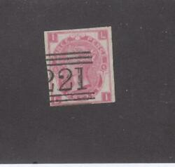 Gb 49b Plate 6 Imperf Leith Scottish Cancel If Unused Cat Val Will Be 10000