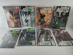 Lot Of 8 Green Arrow Comic Books 2015 And 1 From 1992