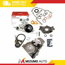 Timing Chain Kit Timing Cover Oil Pump Water Pump 07-14 Gm Chevrolet 5.3 6.0 6.2