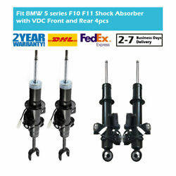 4x For Bmw 5 Series F10 2009-2016 Front Rear Left Right Shock Absorbers Edc 2wd