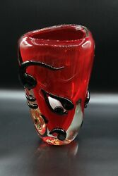 Murano Glass Vasethebulldesigned By Franco Murano Glass Collection