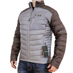 New Under Armour Iso Down Jacket Steel Grey/charcoal Mens S-m-l-2xl-3xl Puffer