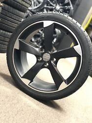 19 Wheels Rims Tires Audi S Line Rs6 S5 R Style 19x8.5 5x112 4 Roter Replica