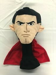 Embroidered Superman 460cc Driver Headcover With Black Knit Sock