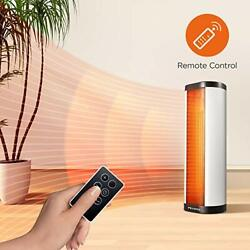 Pelonis Portable 1500w Vertical And Horizontal Ceramic Tower Space Heater Intern
